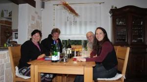 Pfälzer Abend bei unseren Segelfreunden aus Kallstadt